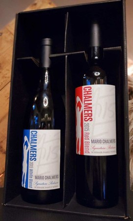 Schnaer Family Wines - Chalmers White and Red Blend Gift Box